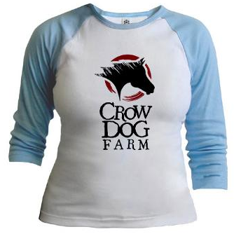Crow Dog Farm Women's Jr. Raglan