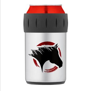 Crow Dog Farm Thermos Can Cooler