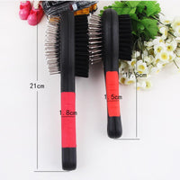 Dog Double Faced Comb Long Hair Brush