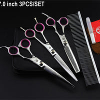 7.8 Inch Shears Hair Cutting Thinning Curved Scissors With Comb Bag