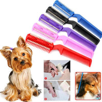 Dog Cat Hair Trimmer Comb