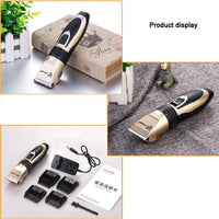 Dog Clipper Shaver Set Haircut Machine