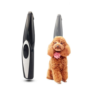 Dog Hair Trimmer USB Rechargeable Grooming Kit