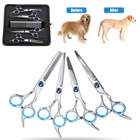 7 inch Dog Cat Cutting Thinning Shears