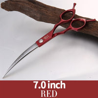 6.5 inch Dog Curved Animal Grooming Scissors