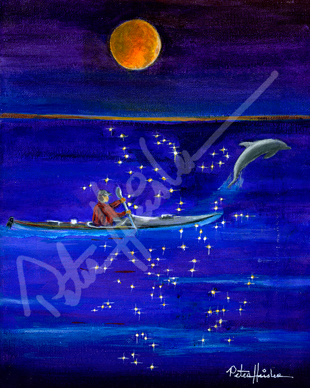 Night Kayaker
