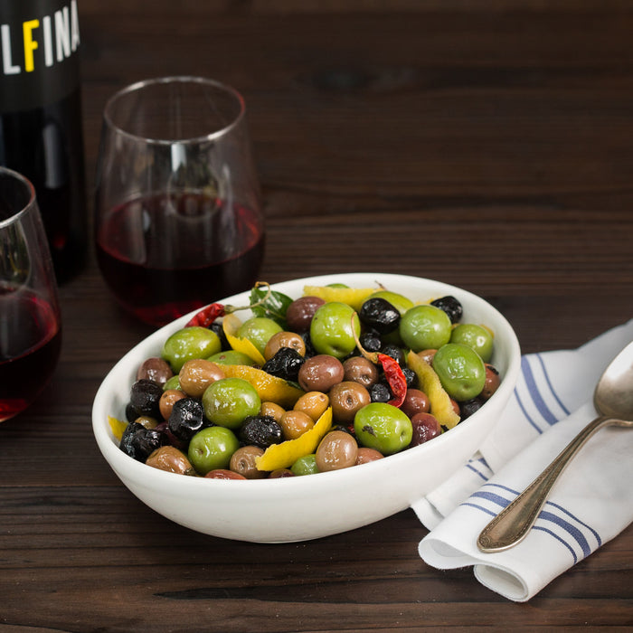 Citrus & Herb-Marinated Olives