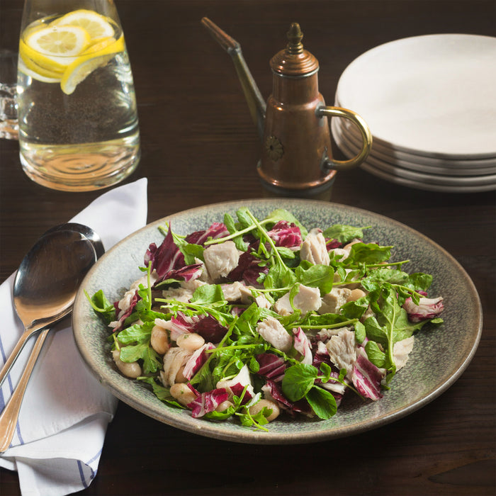 Olive Oil Poached Tuna Salad