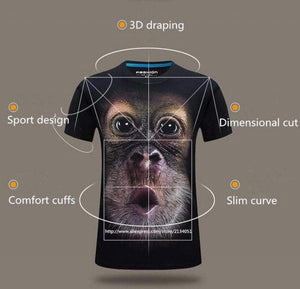 Funny Monkey T-Shirt