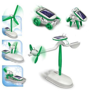 All In 1 Solar Toy