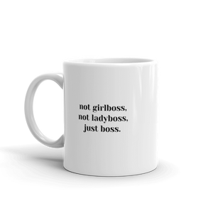 CLASSIC JUST BOSS MUG