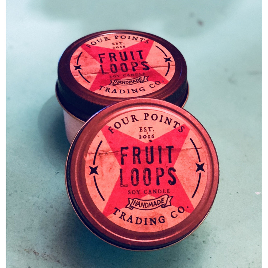 Fruit Loops 4 oz Soy Candle - The Twisted Palomino Boutique