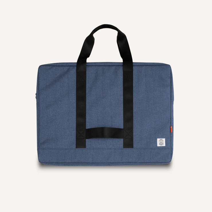 Newport Works A2 and A3 Studio Bag in Steel Blue for art, drawing, laptop and studio tools.