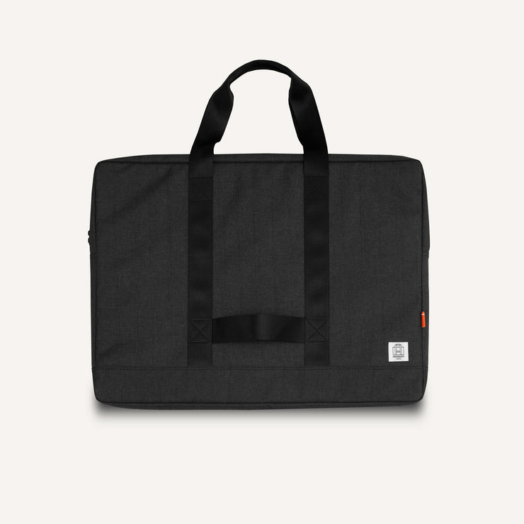 Newport Works A2 and A3 Studio Bag in Charcoal for art, drawing, laptop and studio tools.