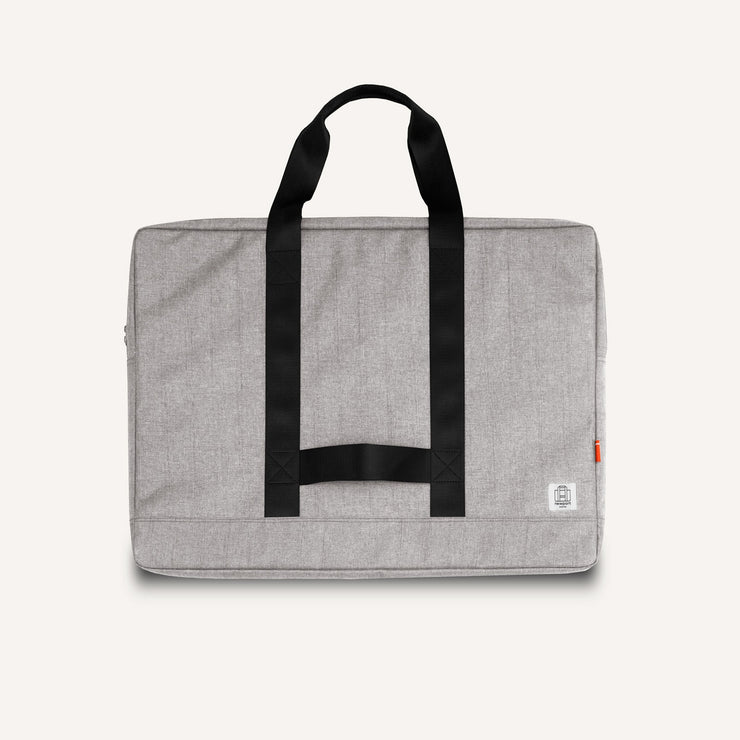 Newport Works A2 and A3 Studio Bag in Granite for art, drawing, laptop and studio tools.