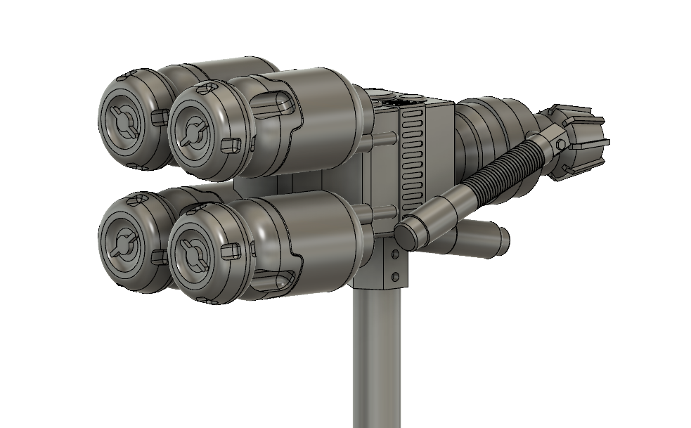 Atom's Judgement Hammer Inspired by Fallout 4 STL download