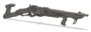Gangster/Mobster Ashe Rifle STL File