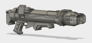 Pharah Rocket Launcher 3d Model