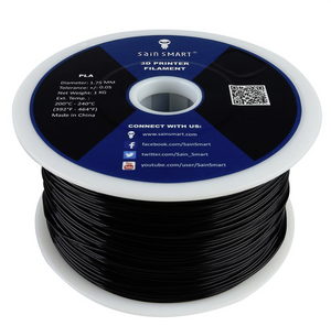 Sainsmart 1.75mm PLA Filament - Black