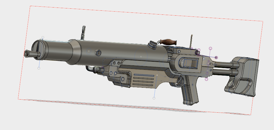 FO4 Assault Rifle STL File
