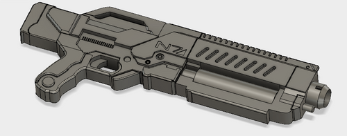 ME3 Crusader Shotgun STL File
