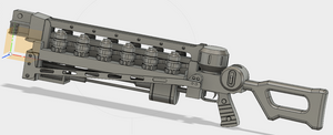 FO4 Gauss Rifle STL File