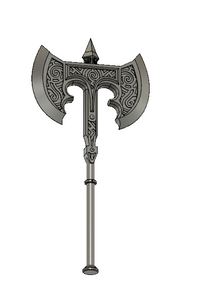 Skyrim Steel Battleaxe STL file