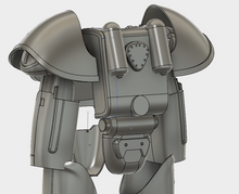 T-51B Power Armor STL File - Torso