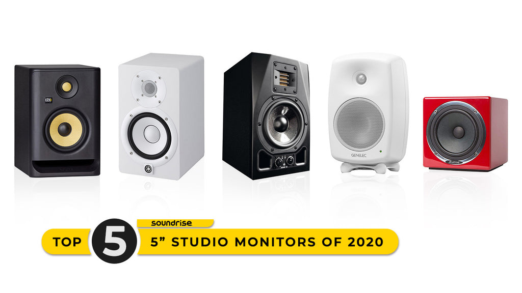 5 Best Studio Monitors of 2020