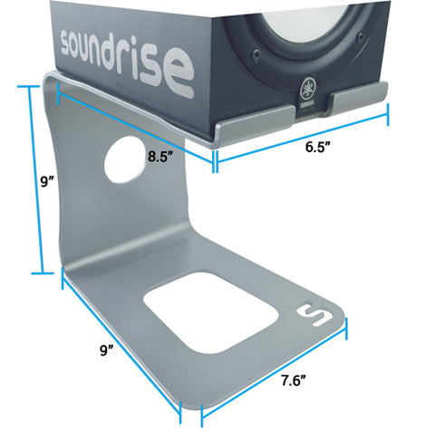 speaker stand dimensions