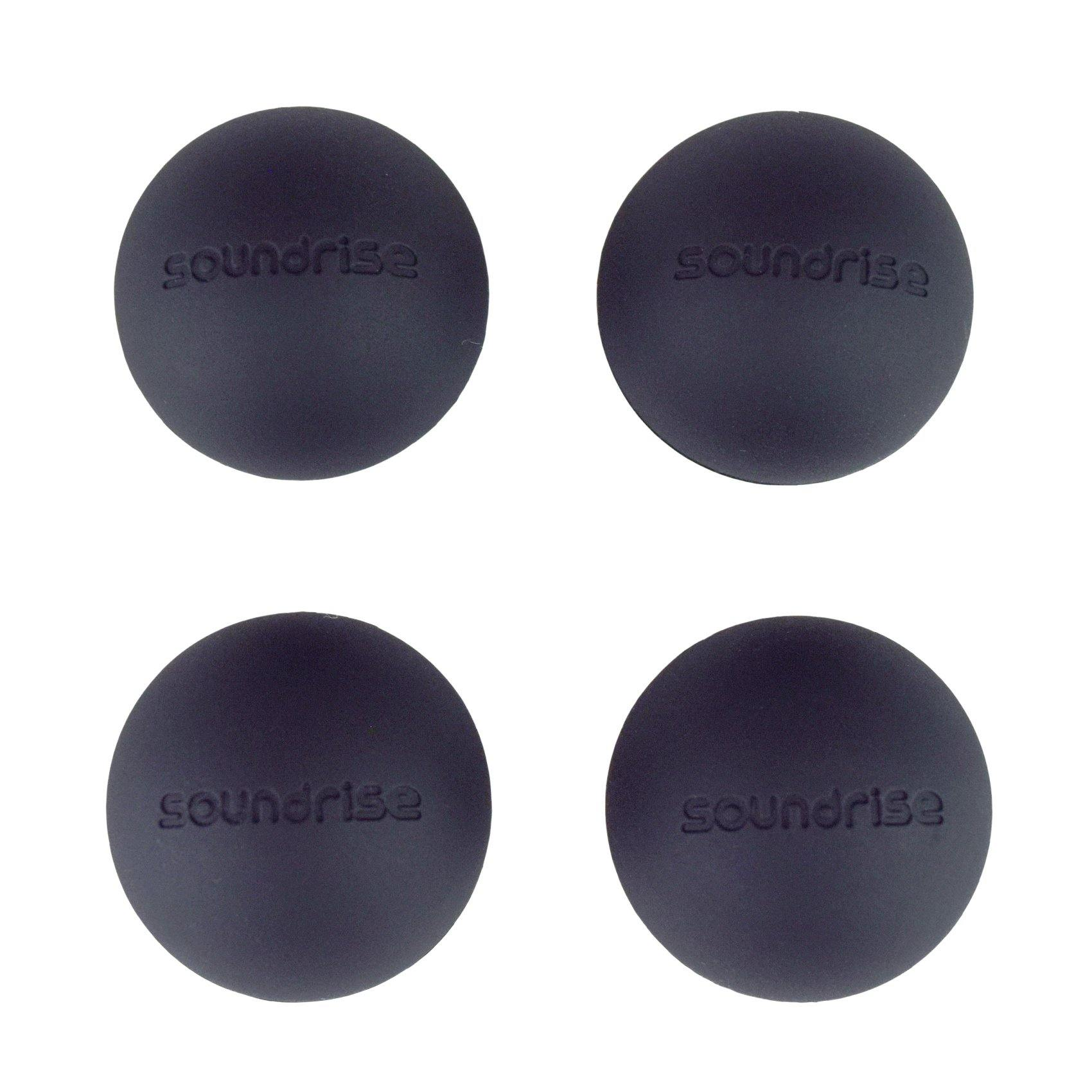 "DOMES 1.25"" Class-A Silicone Vibration Isolation Pads Self-Adhesive"