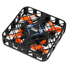 QuadBox 1602 Mini Smart Drone - Features: 6-axis Gyro movement, One Key Return, Headless Mode, LED Tracking Lights, & 2.4GHz 4CH Remote Control