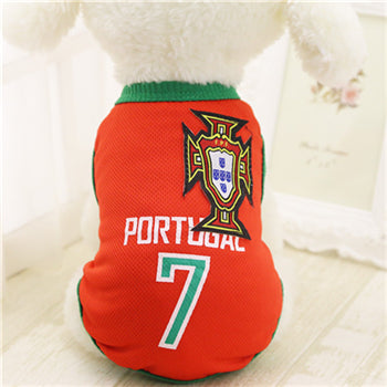 Portugal Soccer Doggy Jersey