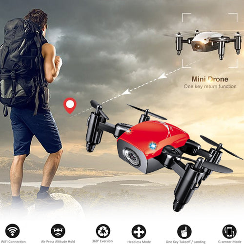 LenSoul Mini Drone Features: 3D Flips, Hover Altitude Hold, Headless Mode Control, One-Key Return