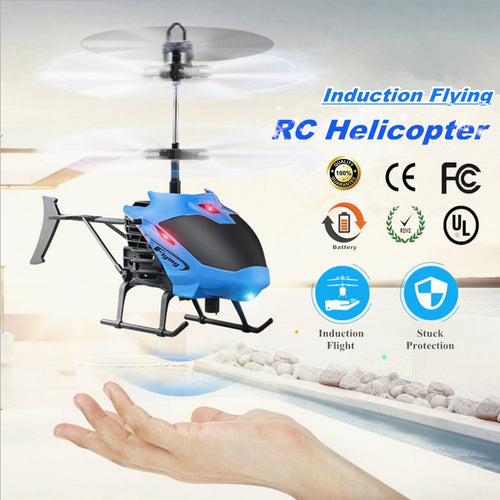 Mini RC Helicopter with Hand Induction Flying