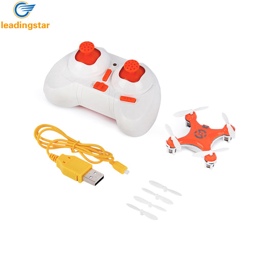 LeadingStar CX-10 Mini racing Drone Features:  6-Axis Gyro with 360 Degree Rollover Function, Rechargeable LED RC Helicopter