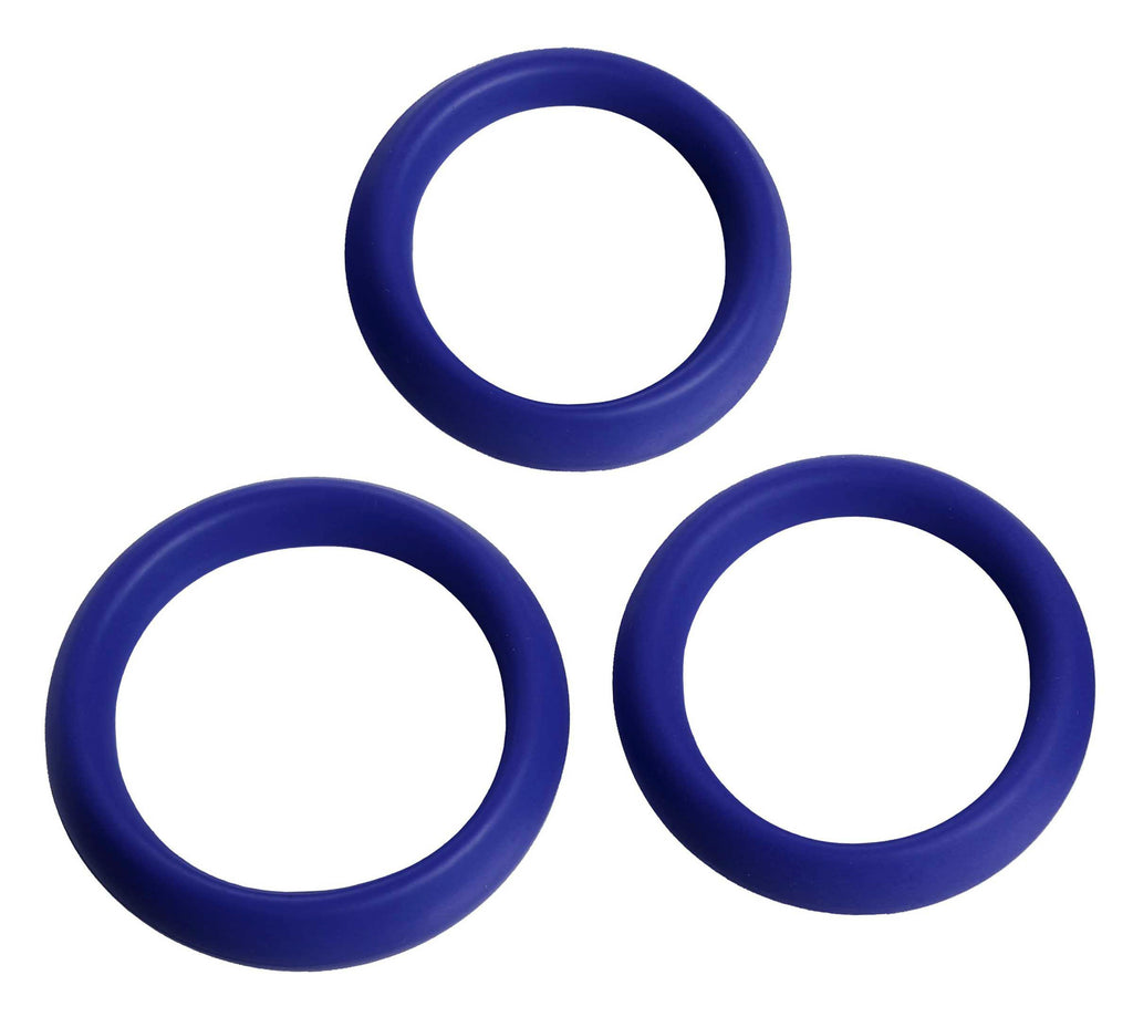 3 Piece Silicone Erection Rings - Tuctoc