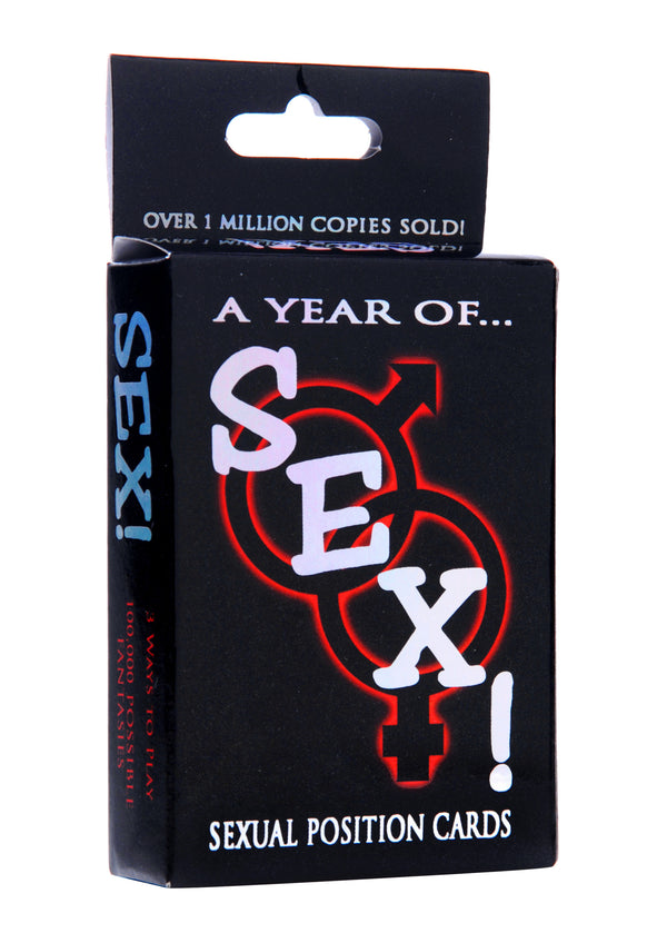 A Year of Sex! Sexual Position Card Game - Tuctoc