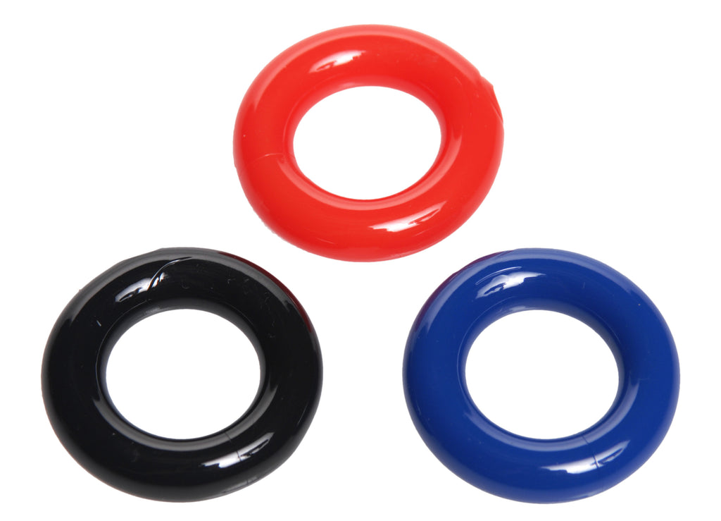 Stretchy Cock Ring 3 Pack - Tuctoc
