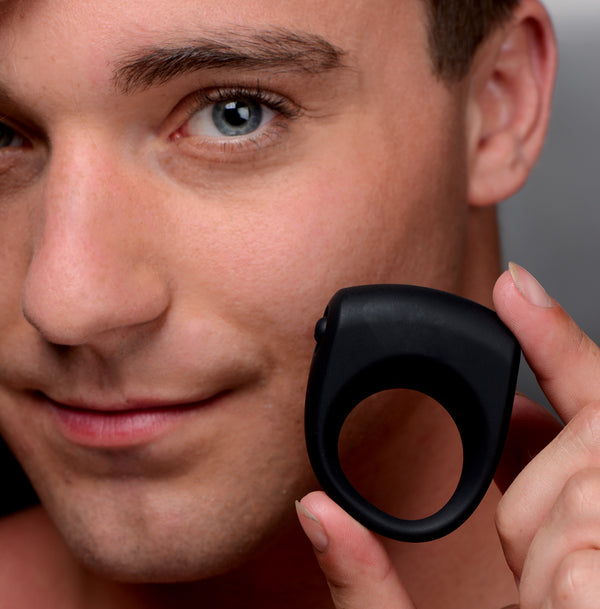Silicone One Speed Vibrating Cock Ring - Tuctoc