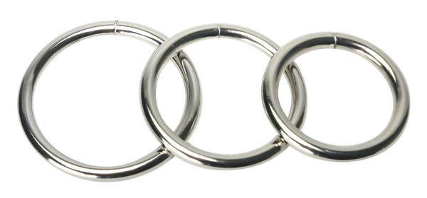 Trine Steel Ring Collection - Tuctoc