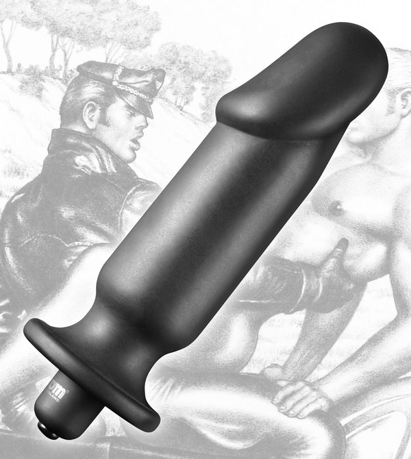 Tom of Finland Silicone Vibrating Anal Plug - Tuctoc