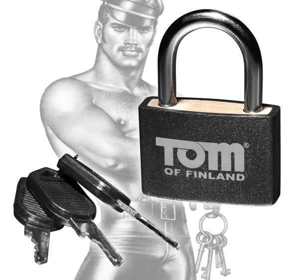 Tom of Finland Metal Lock - Tuctoc