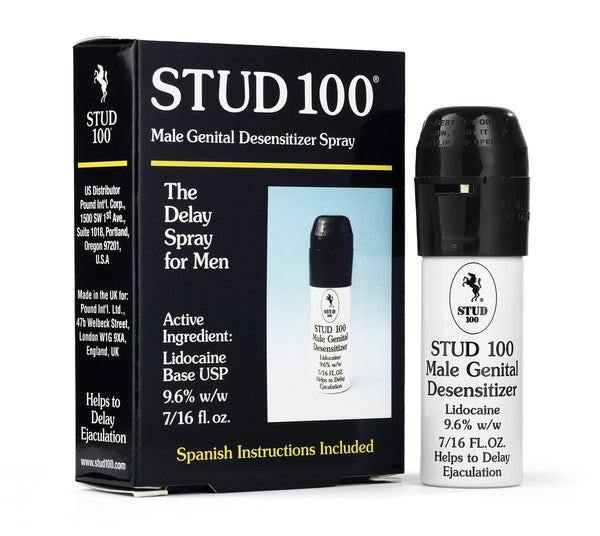Stud 100 Male Genital Desensitizer - Tuctoc