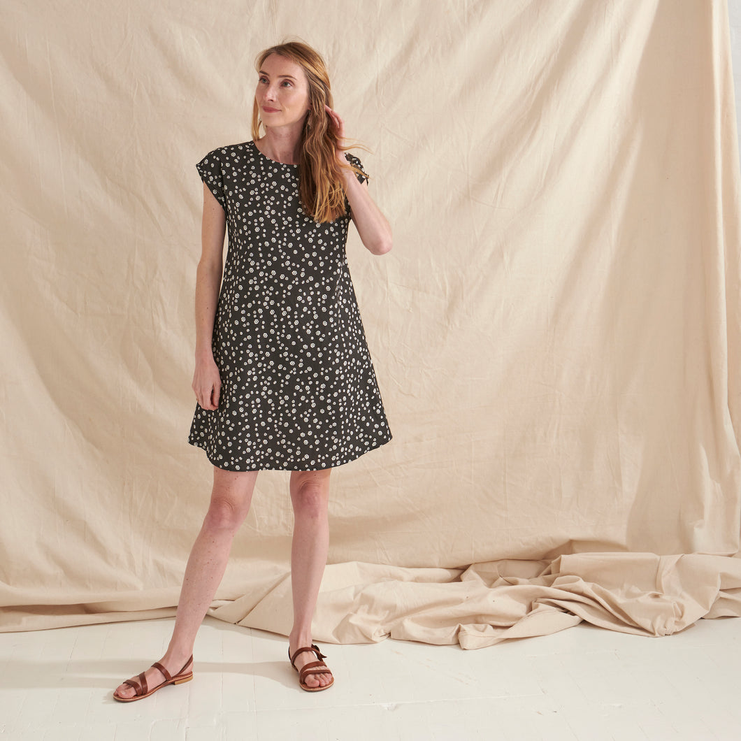 Rockpool A-Line Dress - Nya-ethical