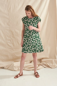 Billy Button A-Line Dress - Nya