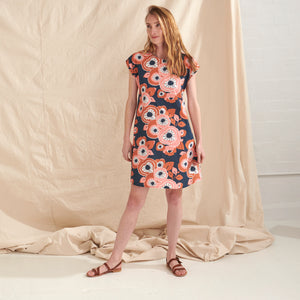 Summertime A-Line Dress - Nya-ethical