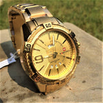 NAVIFORCE Limited Edition Golden Watch