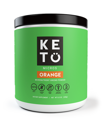 KETO GREENS POWDER WITH MCTs
