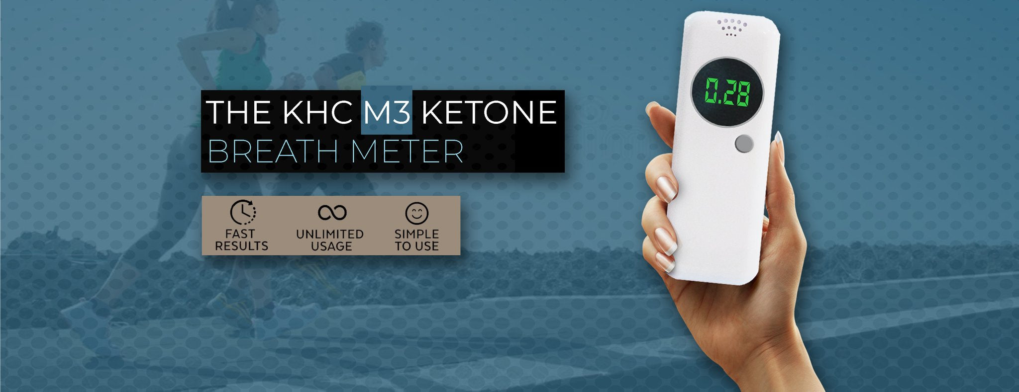 Keto breath meter